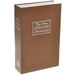 Diversion Safe English Dictionary Book Security Lock Box