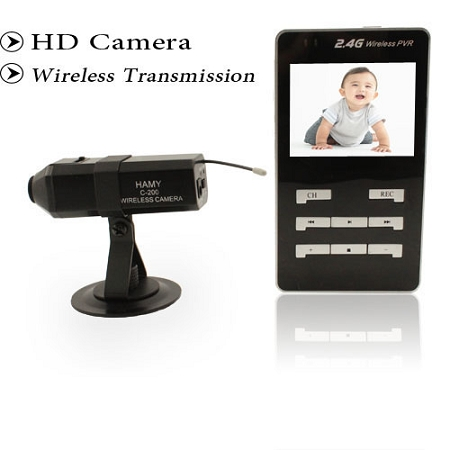 2 4g handheld wireless baby monitor with recording function. Black Bedroom Furniture Sets. Home Design Ideas