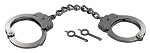 Peerless XL Long Chain Handcuffs