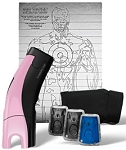 TASER brand C2 Gold Kit Pink Edition