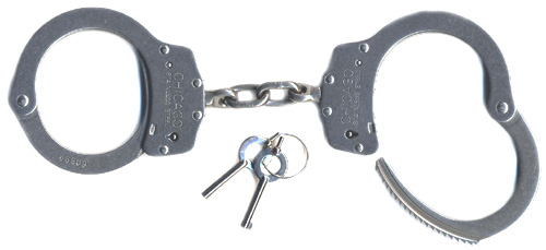Stainless Steel Handcuffs Chicago Model X55