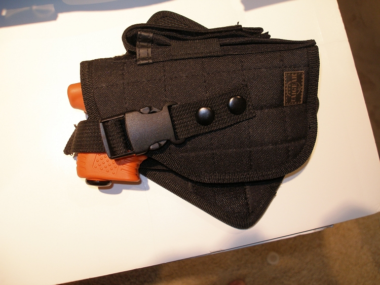 JPX Pepper Gun Laser Black Frame Basic: JPX Nylon Holster