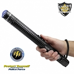 Police Force 10M Tactical Stun Baton Flashlight
