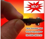 V6 Spy Bug Adjustable Powerful VHF FM Spy Bug Transmitter