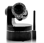 Wireless IP PTZ Smartphone Control Camera