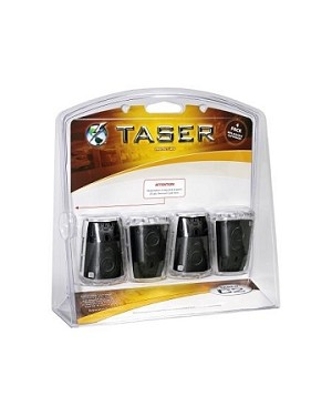 TASER brand C2 Replacement Cartridges-Live 4 Pack