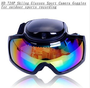 720P HD Skiing Glasses Sports Goggles DVR for Outdoor Motion Recording